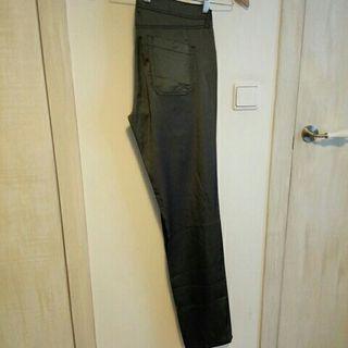 pantalón vestir gris talla 42 Zara