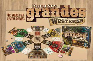 PEQUEÑOS GRANDES WESTERNS - JUEGO DE MESA
