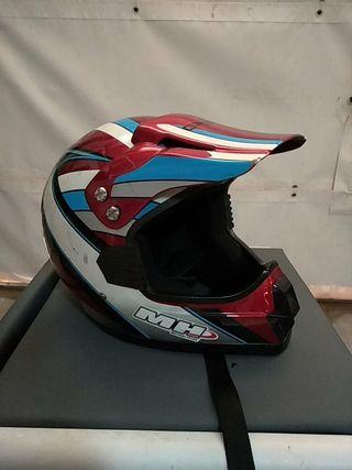 casco motocross enduro MH