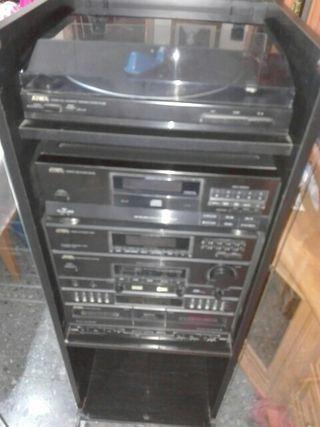 cadena de musica vintage aiwa