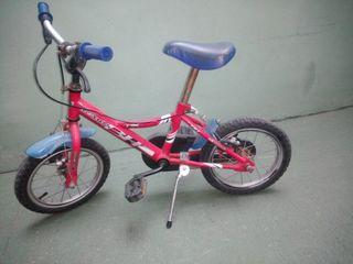 Bicicleta nen BH + rodetes