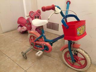 Bici niña iniciación
