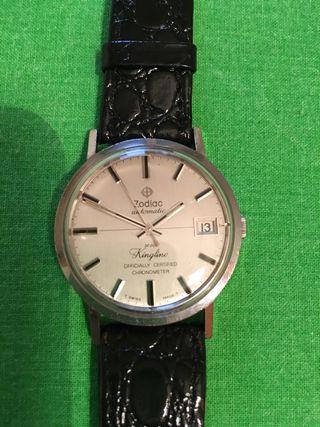 Reloj zodiac kingline cronometro oficial