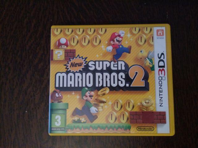 Juego Super Mario Bros 2 Nintendo 3ds De Segunda Mano Por 16 En