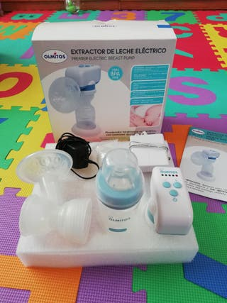 Extractor de leche electrico