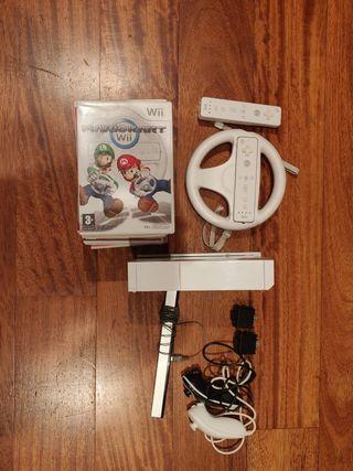Wii +Juegos + Accesorios