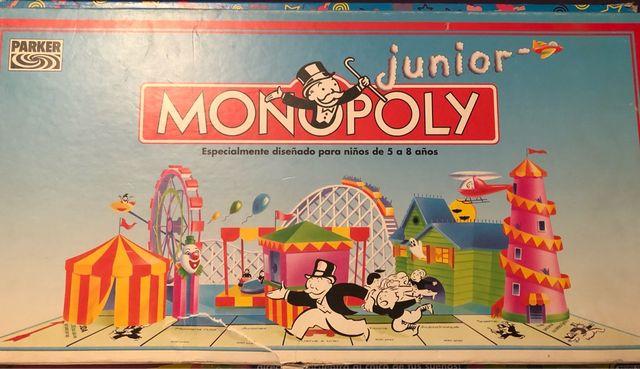 Juego De Mesa Monopoly Junior De Segunda Mano Por 12 En Madrid