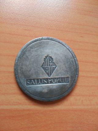 Moneda de 30 Sueldos Fernando VII 1821