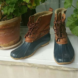 botas agua y nieve sperry talla 37