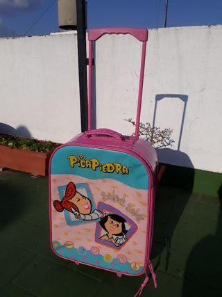 Maleta viaje infantil picapiedra