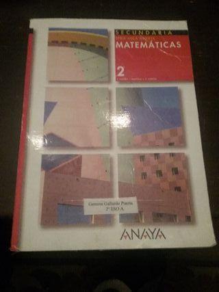 Libro de Matemáticas de 2°ESO