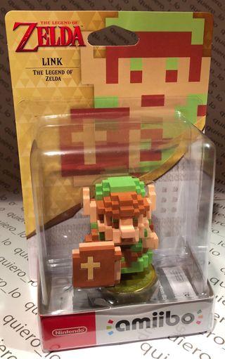 amiibo Link 8 bits (The Legend of Zelda)