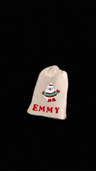 Personalised Christmas sack!