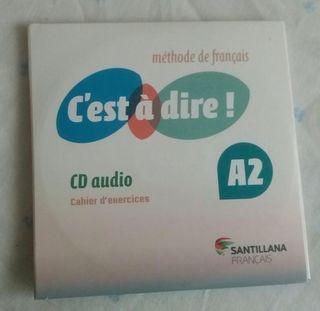 Cd y Dvd de C'est te diré A2 francés