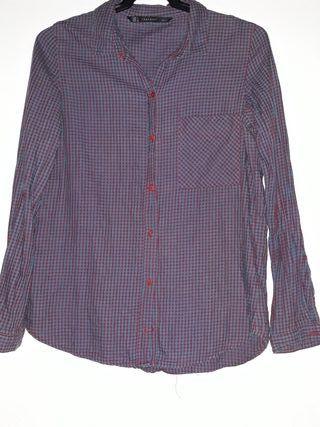 e51ad37daf Camisas para mujer Zara de segunda mano en A Coruña en WALLAPOP