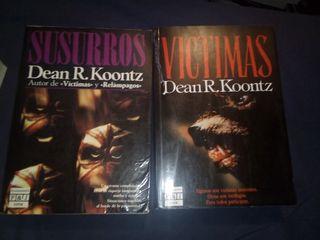 lote libros Dean R. Koontz