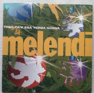 CD MAXI SINGLE MELENDI TRAE PA K ESA YERBA GUENA