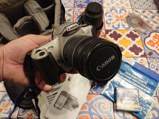 Juego fotografía analógica