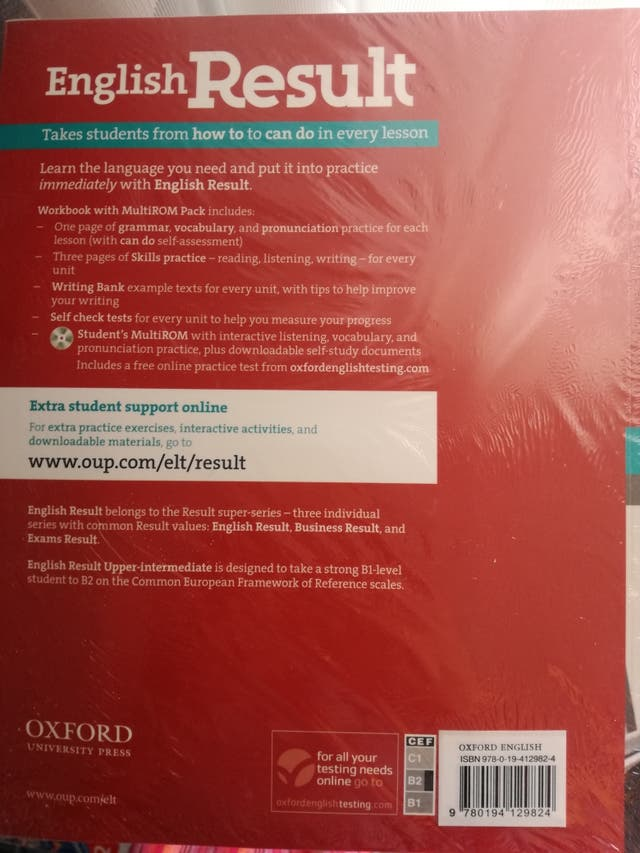 B2 libros de inglés de Oxford de segunda mano por 23 € en Córdoba en