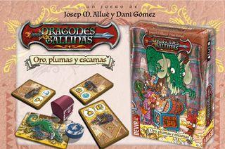 DRAGONES Y GALLINAS - JUEGO DE MESA