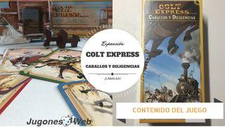 COLT EXPRESS: CABALLOS Y DILIGENCIAS - JUEGO DE ME