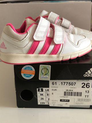 zapatillas niña 25 adidas