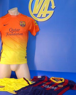 Lote equipacion F.C Barcelona originales