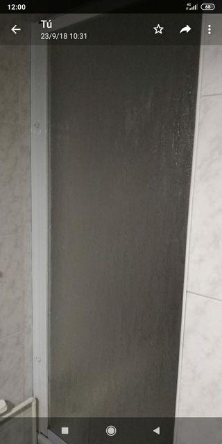 puerta de una hoja para bañera