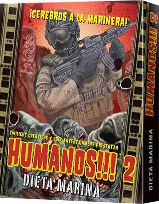 HUMANOS!!! 2: DIETA MARINA - JUEGO DE MESA