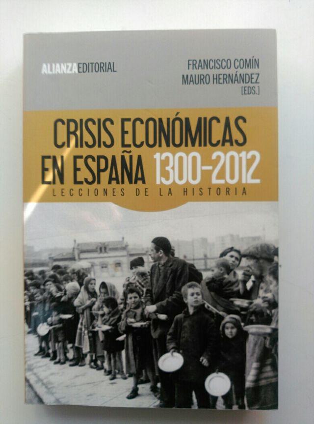 Crisis Económicas En España 1300 2012 De Segunda Mano Por 20 En Majadahonda En Wallapop
