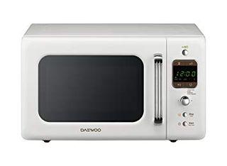Microondas Daewoo retro con grill