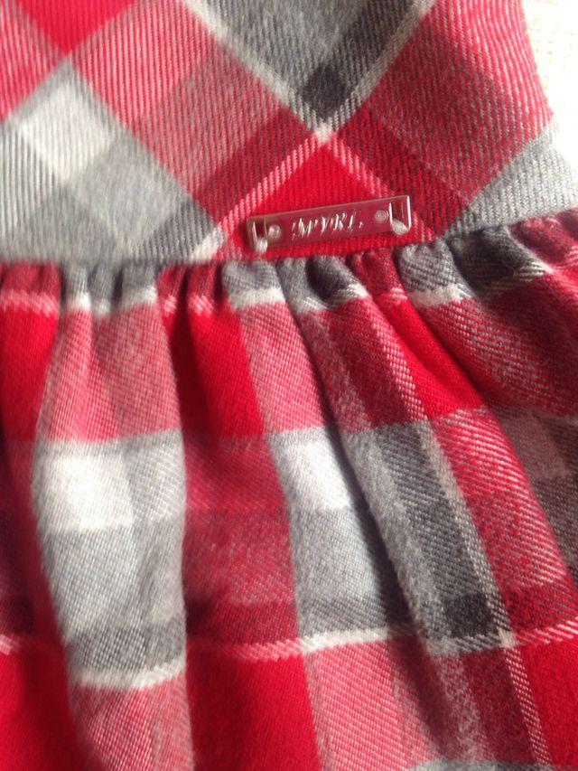 Falda Mayoral talla 4 104 cm y leotardos