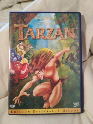 DVD Disney Tarzán edición especial. (Dos discos).