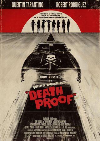 Gran Cartel película DEATH PROOF. Q. Tarantino