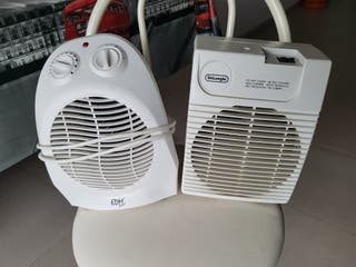 calefactores portatiles 25 cada uno