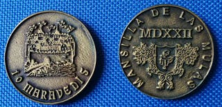 Monedas de 10 Maravedís