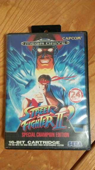 Street fighter II Special Champion Edition.