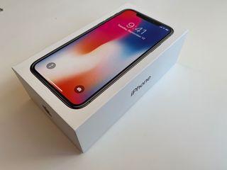 Iphone X Space Grey 256 Nuevo y libre garantía