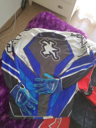 equipacion cross enduro