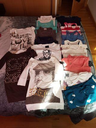 lote15€ tallas 34 ropa,pantalosn,camisetas