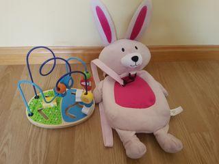 mochila conejo niñ@