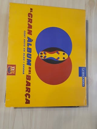 El Gran Àlbum del Barça. Cent anys en blau i grana