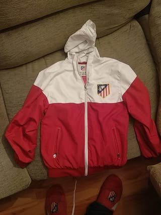 chaqueta cd atletico madrid 10 años