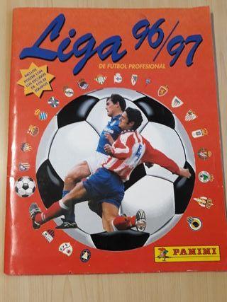 Album cromos Liga 96/97 Panini