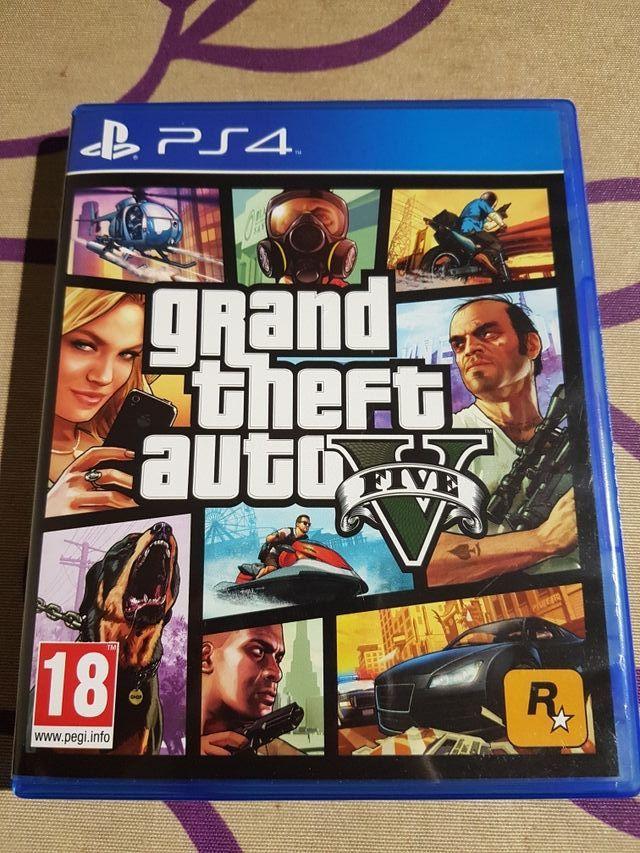 Juego Ps4 Grand Theft Auto V De Segunda Mano Por 23 En Mostoles En