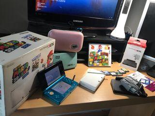 NINTENDO 3DS PERFECTO ESTADO 2 COLORES DISPONOBLES