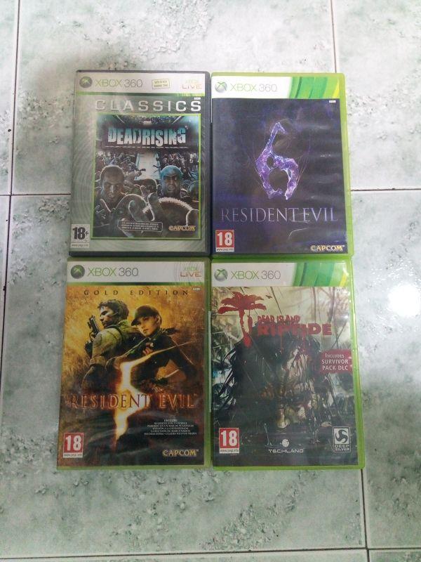 Pack Xbox 360 4 Juegos Clasicos De Zombies De Segunda Mano Por 25