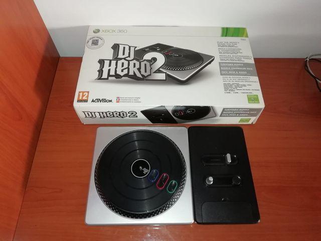 Mesa Dj Hero 2 Xbox 360 2 Juegos De Segunda Mano Por 20 En
