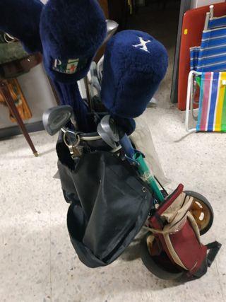 Juego de palos de golf (para iniciación)
