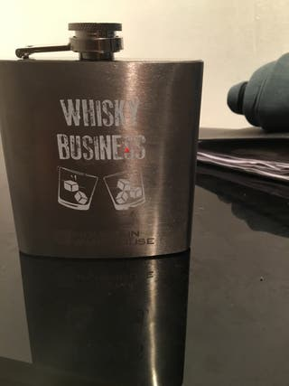 Brand new hip whiskey flask